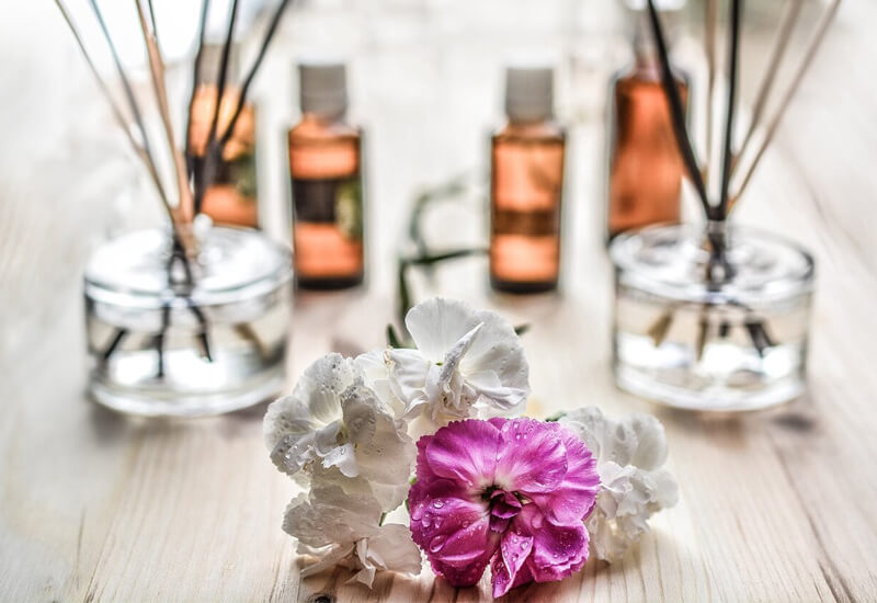 Essential oil fun for Healthy Happy Hours